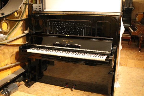 acheter piano occasion steinway and sons K132