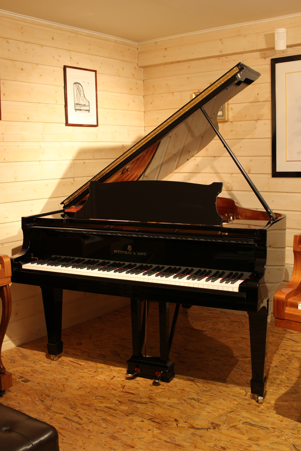Acheter Piano d'occasion Steinway and Sons M170