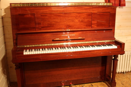 piano d'occasion Steinway and Sons k132